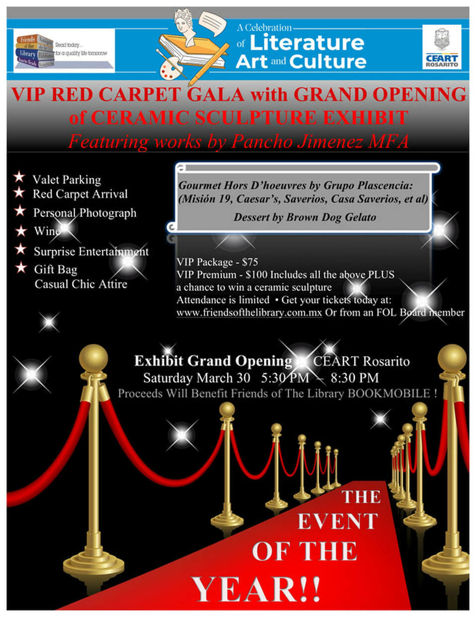 FOL VIP Red Carpet Gala March 30, 2019