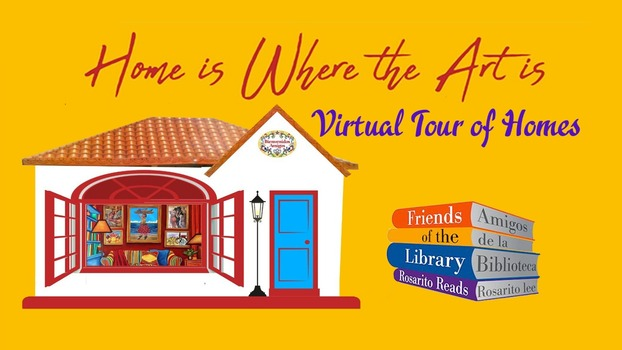 Home is where the Art is... Friends of the Library Virtual Home and Art Tour February 2021